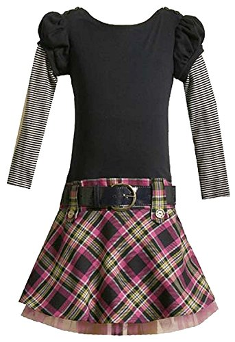 Buy belted drop waist dress - 1
