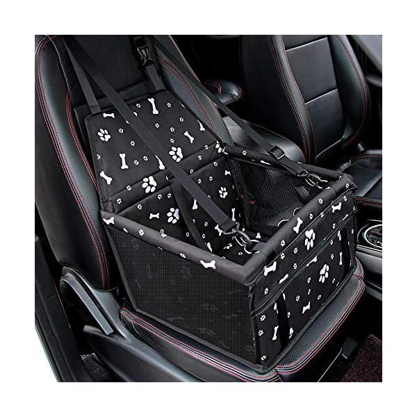 51HZMPOtmzL SWIHELP Hunde Autositz Wasserdicht Atmungsaktiv Haustier-Auto-Matte Sicherheit Haustier Auto Booster Waschbar…