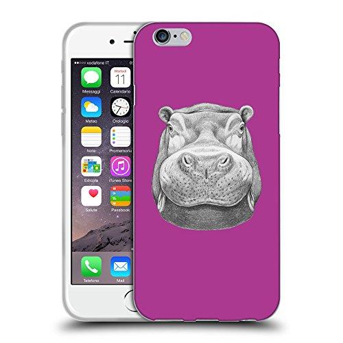 "GoGoMobile Coque de Protection TPU Silicone Case pour // Q05270621 hippopotame 2 byzantin // Apple iPhone 6 4.7"""