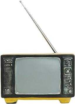 LHXHL Modelo De TV Retro, DecoracióN De Estilo Antiguo, Resina, DecoracióN del Hogar Retro, Manualidades, Accesorios De FotografíA De Estudio En Casa: Amazon.es: Deportes y aire libre
