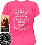 Sons of Libery Girls Just Want to Have Guns. Wom Pink/LRG T-Shirt