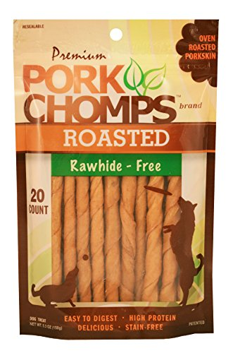 (Premium Pork Chomps Roasted Mini Twistz 20Ct)