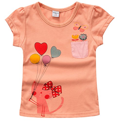 Girls T shirts Sleeve Cotton Casual product image