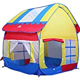 Fold-up Portable Kids Baby Children Outdoor Indoor Fun Play Tent Ball Game House Playhut Pop Hut Toy