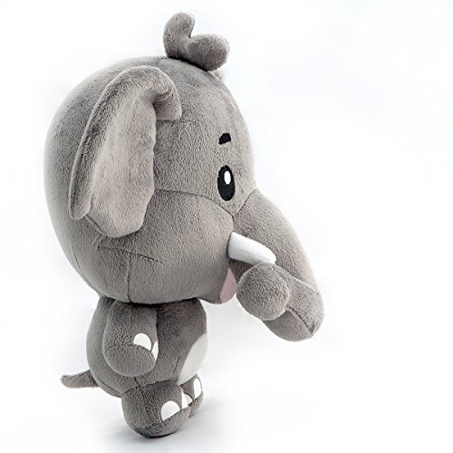 Amazon Com Comfort Buddy 10 Inch Ellie The Elephant Plush Toy Gray