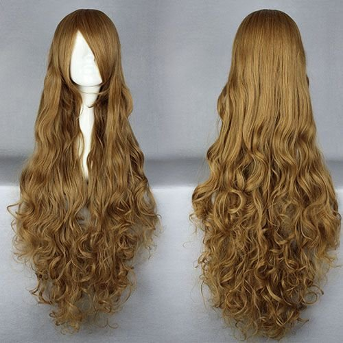 Price comparison product image Smile Cosplay Anime wig 90cm Long Code Geass-Nunnally Vi Britannia / Nunnally Lamperouge Blonde Costume