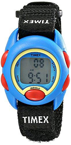 09J Digital Display Watch with Adjustable Nylon Strap (Kids Indiglo Elastic Strap Watch)