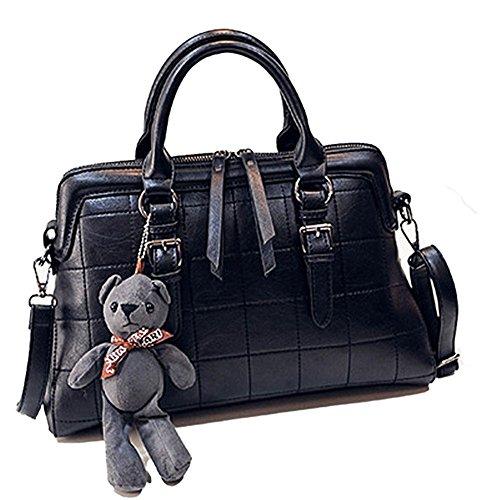 2016 Europe Handbag Tide Lattice Spiraea Portable Female British Style Shoulder Messenger Bag(c3)