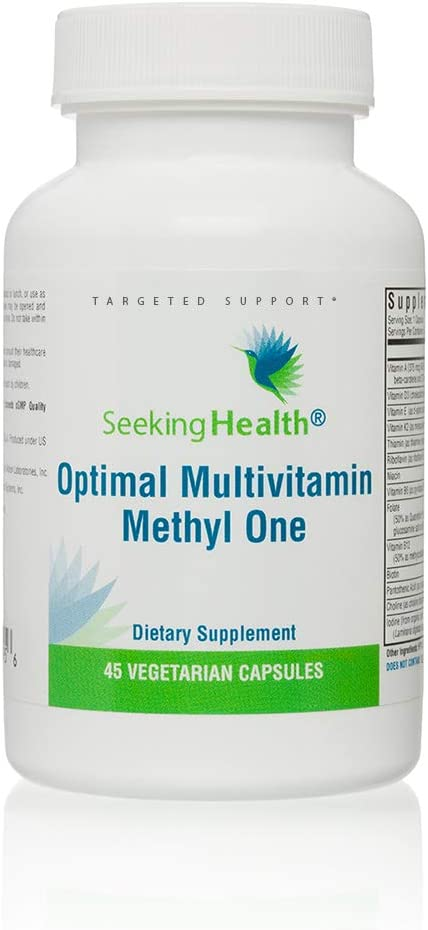 Optimal Multivitamin Methyl specialty shop Indefinitely One Capsules 45 Seeki Vegetarian