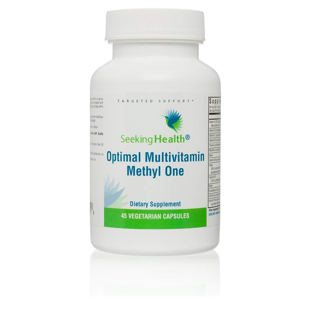 Optimal Multivitamin Methyl One | 45 Vegetarian Capsules | Seeking Health
