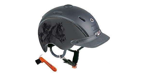 Niños Casco de equitación Choice Casco Negro/titanio Jockey S (50 – 52 cm) + arañazos Jinete Herradura laden24. de: Amazon.es: Deportes y aire libre