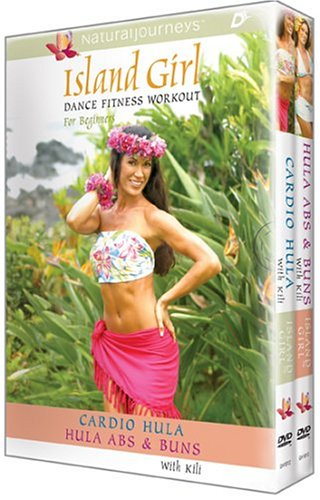 Island-Girl-Dance-Fitness-Workout-For-Beginners-Cardio-Hula-Hula-Abs-Buns-2-DVD-Set