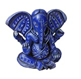 Lord Ganesh Baby Ganesha Statues Hindu Good Luck God - Blue