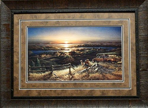 Terry Redlin Best Friends Art Print Framed (Best Friends Framed Print)