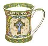 Irish high cross bone china mug %2D an I