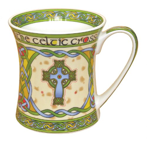 Irish China (Irish high cross bone china mug - an Irish gift designed in Galway Ireland.)