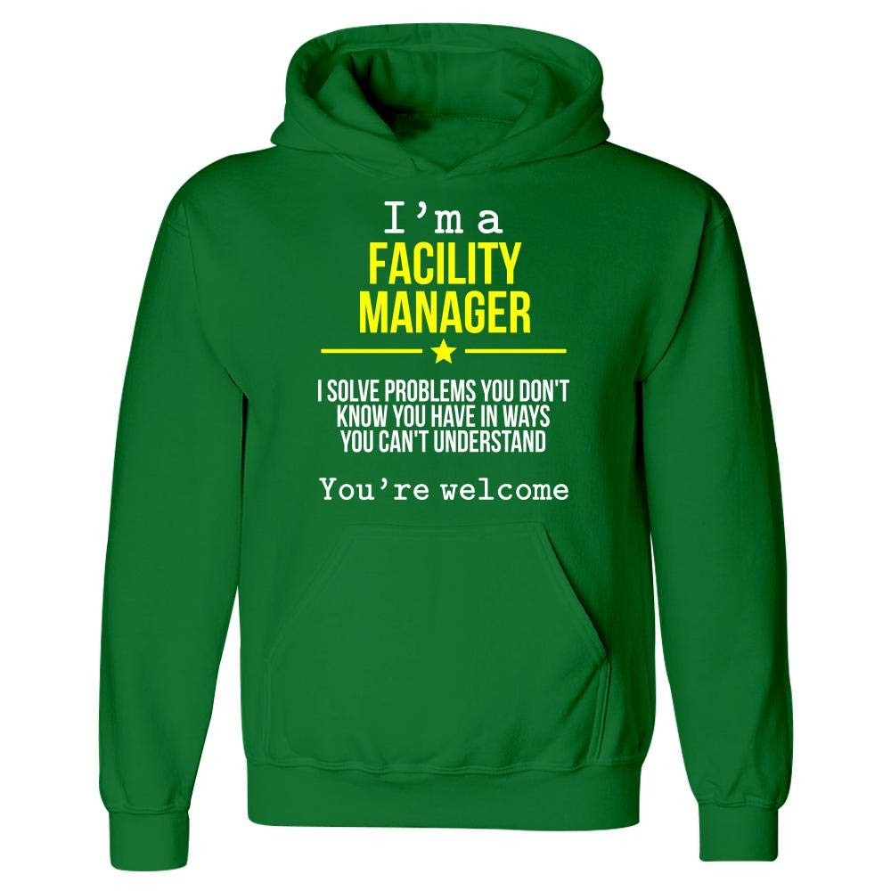 Hoodie Im A Facility Manager This Gift Rocks