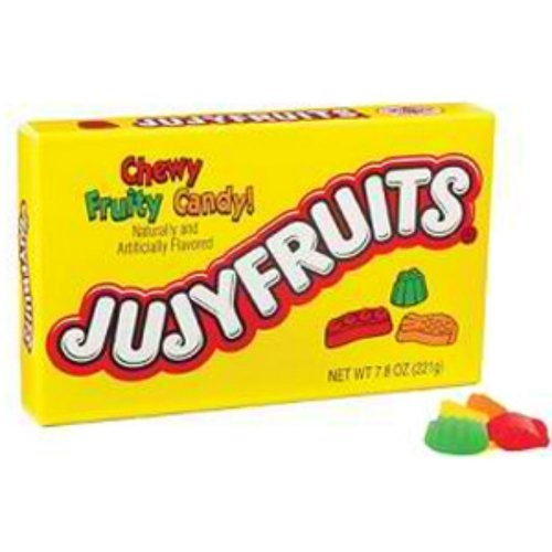 Jujyfruits Original Classic 6 Ounce Theater Box 12 Boxes by The Nutty Fruit House
