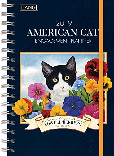 The LANG Companies American Cat 2019 Engagement Planner - Spiral (19991011081) - Spiral Cat