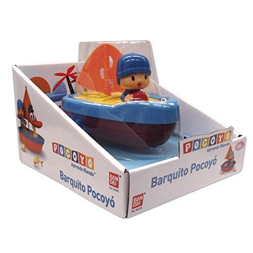 - Pocoyo-Small Multicoloured Boat (Bandai 84395)