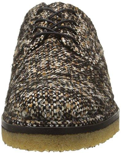 Castañer Blossom-Tweed, Scarpa Donna Marrone (Tweed)