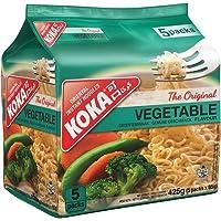 KOKA Oriental Instant Noodles The Original Vegetable Flavour(Pack of 5 x 85g )