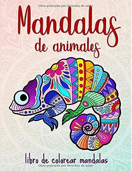 Mandalas de animales: 50 mandalas de animales para niños a partir ...