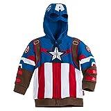 jacket captain america - Marvel Captain America Fleece Jacket for Boys Size 5/6
