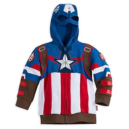 kids captain america jacket - 1