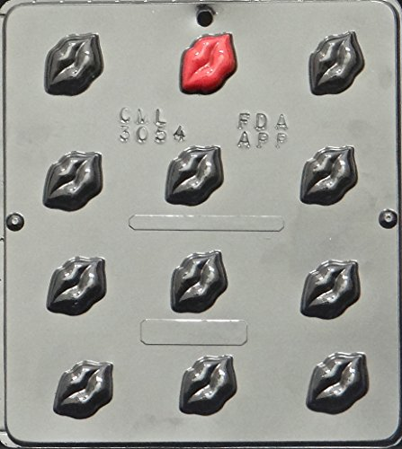 Lips Chocolate Candy Mold Valentines Day 3054