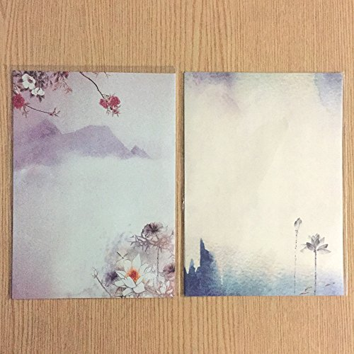 40 Best American Stationery Gifts Images On Pinterest: Winrase® Set Of 40 Chinese Ink Painting Classical Style