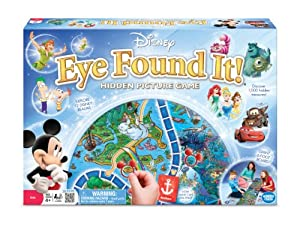 World of Disney Eye Found It Board Game by The Wonder Forge that we recomend personally.