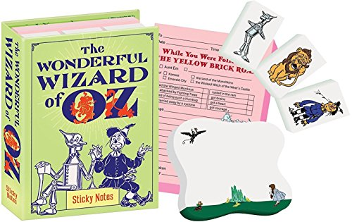 The Wonderful Wizard of Oz Sticky Notes Booklet]()
