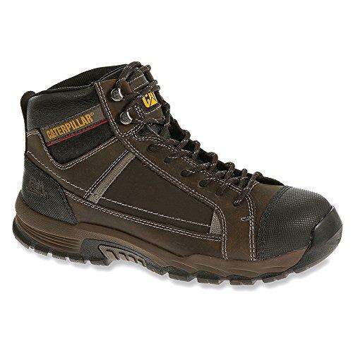 Caterpillar Mens Regulator Leather Work Boots Brown uI4P2e6cb