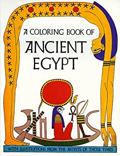 a coloring book of ancient egypt - A Coloring Book