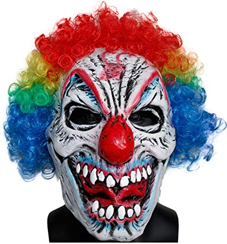 GN Netcom GNG Mens Scary Evil Last Laugh Clown mask for ()