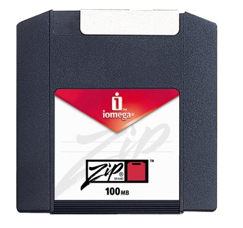 Iomega 10019 Zip 100 MB Disks Mac Formatted