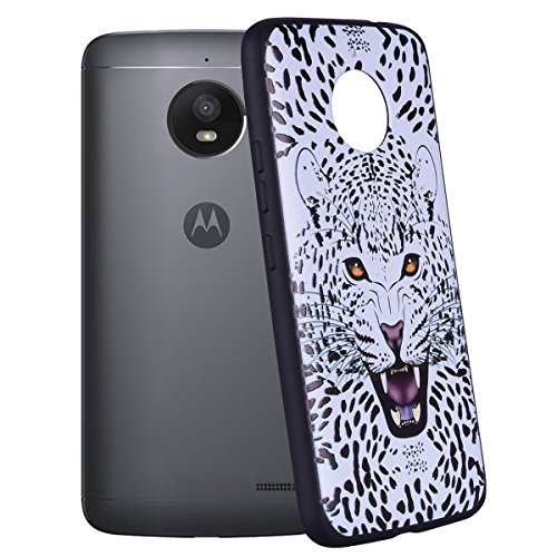 Estuche protector de TPU de color suave para Motorola Moto E4 Plus (Edición de Europa) ( Color : Unicorn ) Leopard
