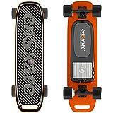 enSkate WoBoard Mini Electric Skateboard Longboard Smart Skateboard Remote Control 9 PLY Canadian Maple Wood and 1 Sand Paper Anti-Slip Samsung Battery Inside 4 Levels Speed 12.5 MPH Top Speed Orange