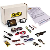 MPC Complete 2 Way LCD Remote Start Kit with Keyless Entry For 2000-2001 Ford Excursion - Includes Bypass