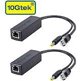 POE Splitter, 48V to 12V, IEEE 802.3af Compliant 10/100Mbps, for Surveillance Camera, 2-Pack