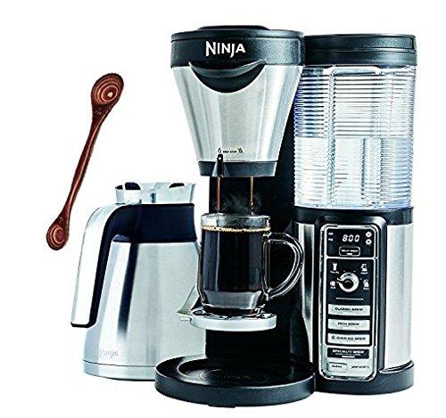 Ninja Coffee Bar Brewer, Thermal Carafe (CF087) with Bonus Exotic PakkaWood Coffee Scoop