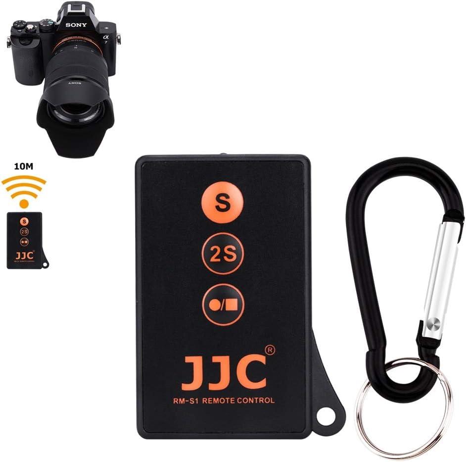 Wireless Shutter Release JJC Infrared Shutter Remote Control for Sony A6600 A6500 A6400 A6300 A6100 A6000 A7 III A7 II A7S II A7R III A7R II A7S A900 A850 A580 A560 A550 A500 A450 A77 II A65 A57 A55