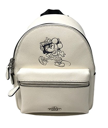 Jual Coach Mini Charle Backpack With Minnie Mouse Motif (Chalk ... 9e46057499