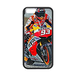 Marc Marquez iPhone 6 Plus 5.5 Inch Cell Phone Case Black Phone cover J9736027