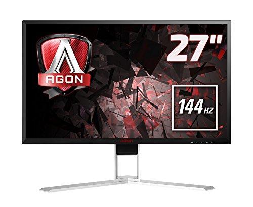 AOC Agon 27 inch 144 Hz 2560 x 1440 LED Gaming Monitor, 1 ms Response Time,...