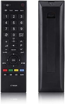 Sustitución del Mando a Distancia Universal para Toshiba Smart TV CT-90329, Smart TV Remote Control CT-90329 para Toshiba LCD TV: Amazon.es: Electrónica