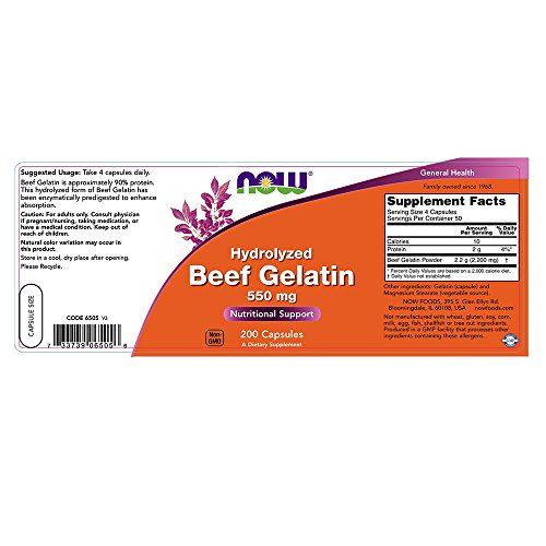 how to use beef gelatin