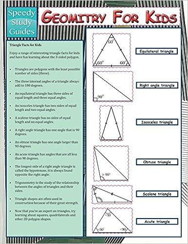 Geometry For Kids (Speedy Study Guide): Speedy Publishing ...