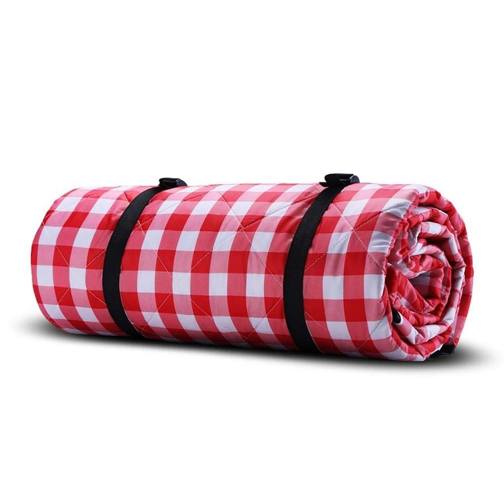 ZKKWLL Picnic Blanket Large Picnic Blanket Washable Outdoor Picnic Blanket Foldable Bag with Shoulder Strap Lightweight Insulated Camping Blanket Suitable for Travel Beach mat by ZKKWLL